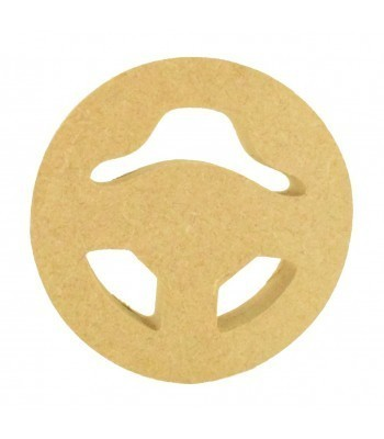 18mm Freestanding MDF Gaming Steering Wheel Shape